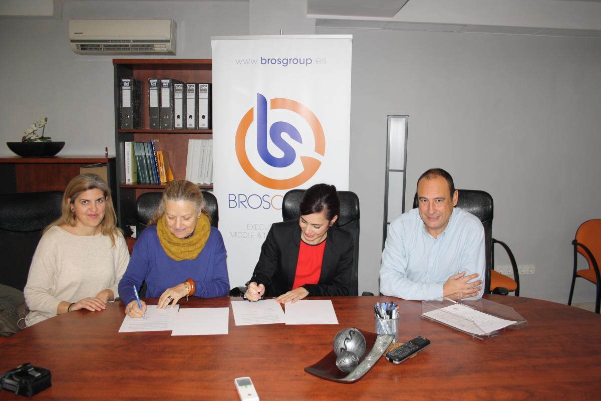 Sinergia laboral firma un conveni amb bros group per a col for Conveni col lectiu d oficines i despatxos